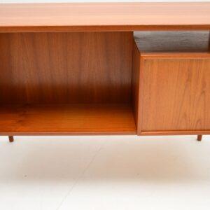 1960's Danish Vintage Teak Desk by Kai Kristiansen