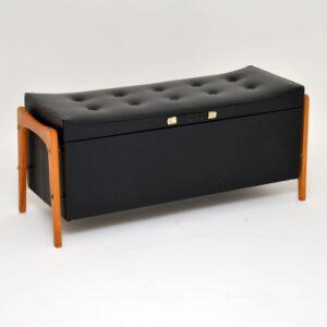 retro vintage blanket chest ottoman foot stool