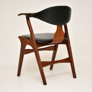 1960's Danish Vintage Teak Desk / Dining Chair