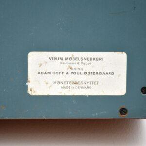 danish teak retro vintage clothes valet adam hoff poul ostergaard