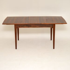 alfred cox vintage retro walnut dining table