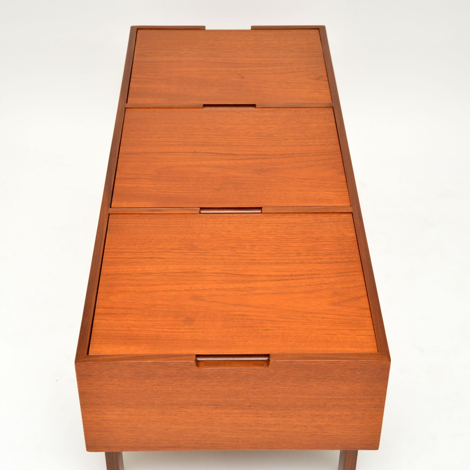 1960's Teak Vintage Coffee Table / Storage Box ...