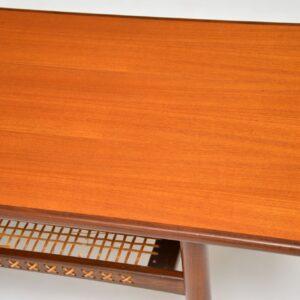 1960's Vintage Danish Teak Coffee Table