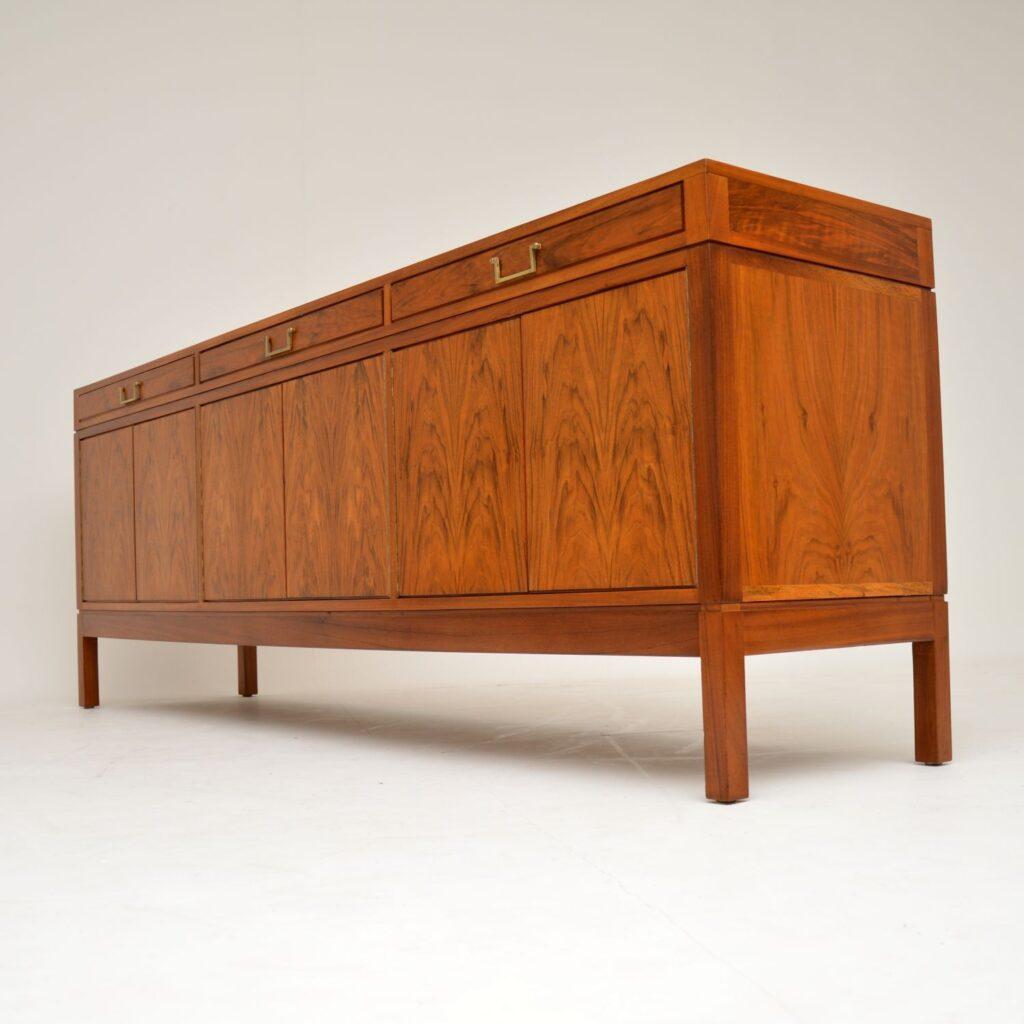 retro vintage walnut sideboard archie shine robert heritage