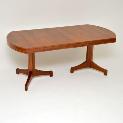 archie shine robert heritage walnut dining table
