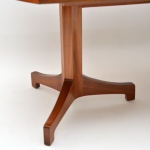 1960's Vintage Walnut Extending Dining Table by Robert Heritage