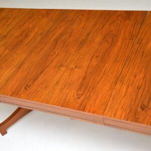 archie shine robert heritage walnut dining table