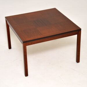 danish retro vintage rosewood coffee table heggen