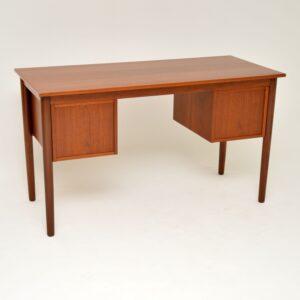 danish retro vintage teak desk arne vodder