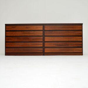 1970's Danish Vintage Rosewood Sideboard