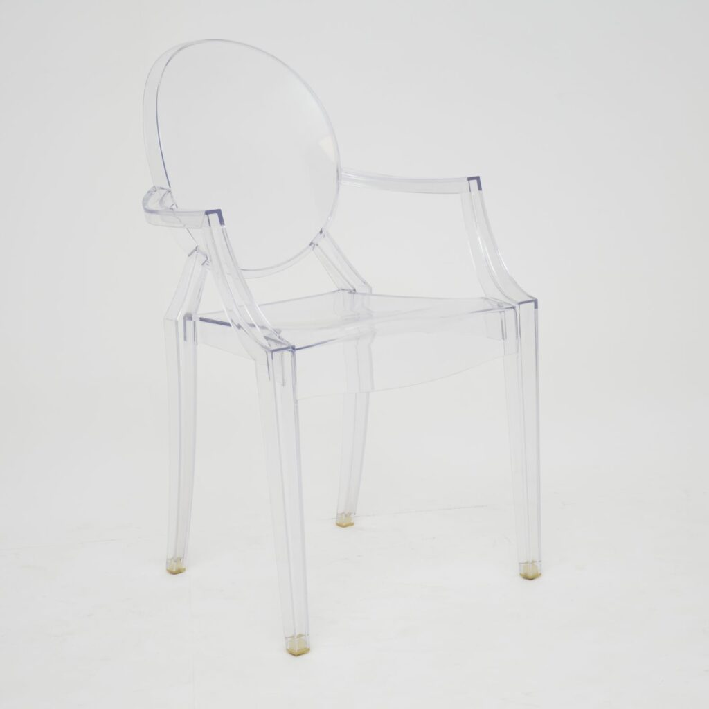 phillipe starck kartell ghost louis chairs