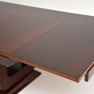 1920's French Art Deco Rosewood Dining Table