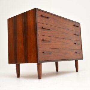 danish retro vintage rosewood chest of drawers kai kristiansen