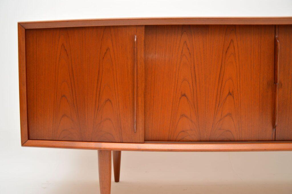 danish retro vintage teak sideboard hp hansen svend aage madsen