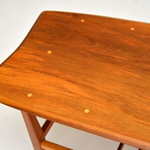 1960's Vintage Inlaid Walnut Coffee Table