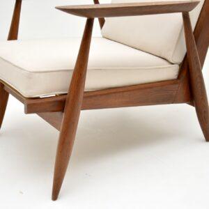 1960's Pair of Danish Oak Armchairs