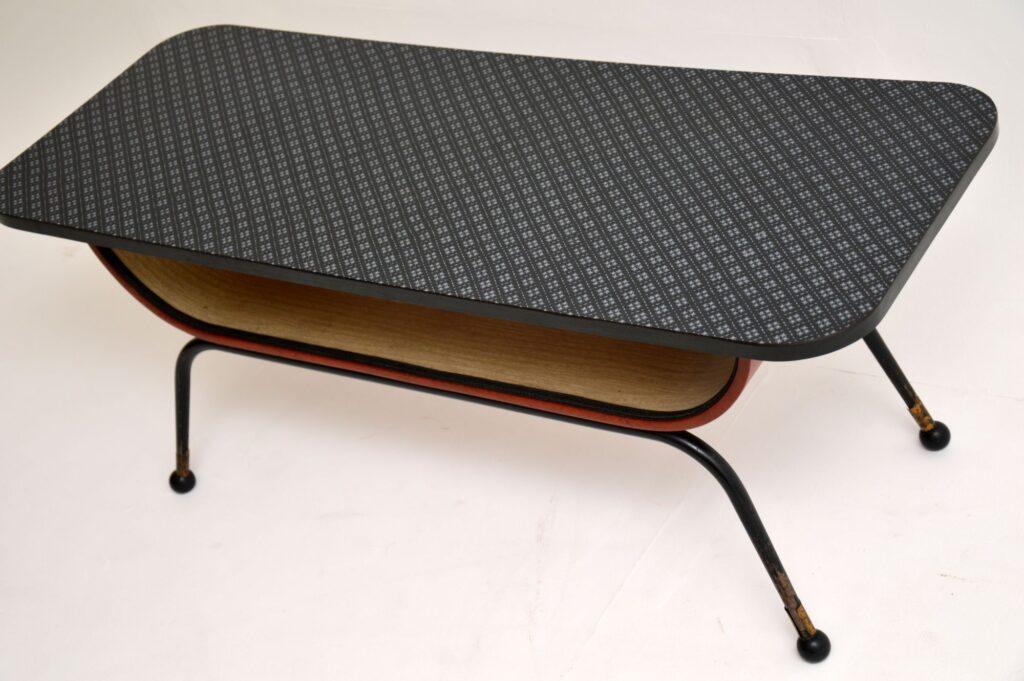 retro vintage italian coffee table