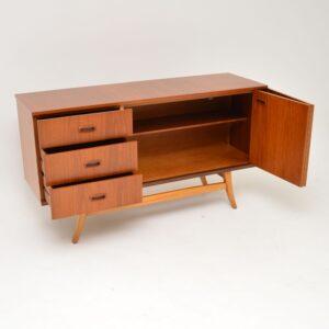 retro vintage teak danish sideboard