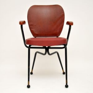 retro vintage italian dining table chairs