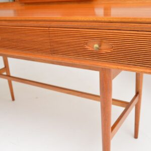 1960's Vintage Mahogany Dressing Table by Robert Heritage