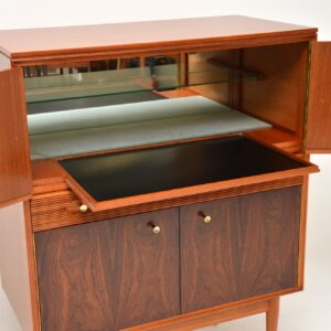 1960's Vintage Rosewood Drinks Cabinet by Robert Heritage