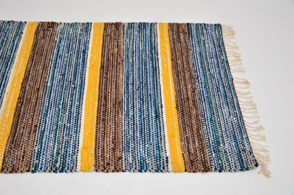finnish scandinavian wool retro vintage rug
