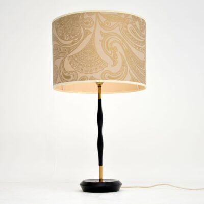 retro vintage table lamp