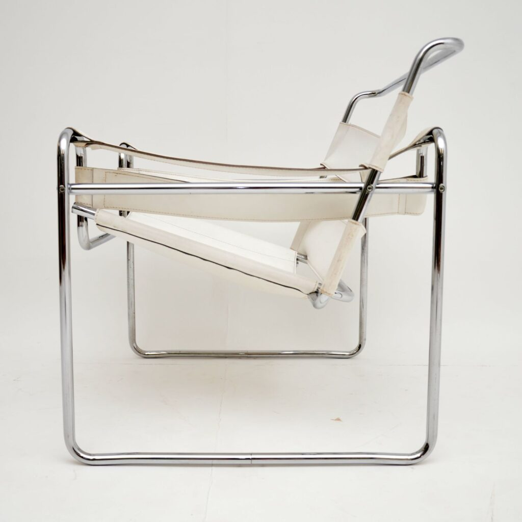retro vintage wassily armchair marcel breuer gavina