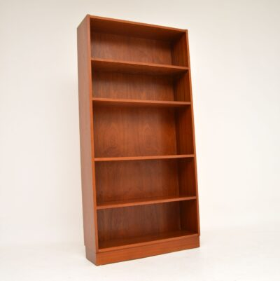 danish retro vintage teak bookcase