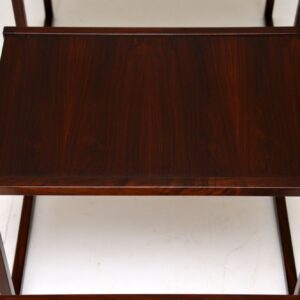 danish retro vintage rosewood nest of tables kai kristiansen