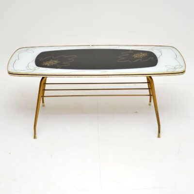 vintage retro coffee table