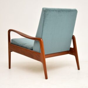1960's Vintage Armchair in Afromosia by Greaves & Thomas