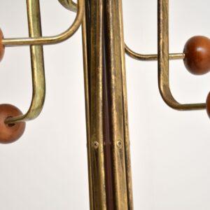 1970's Vintage Brass Hatstand / Coat Rack