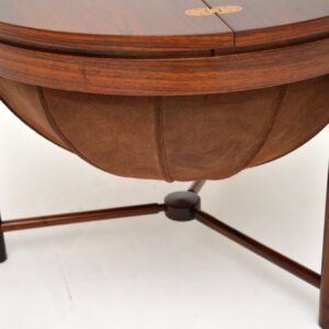 1960's Rosewood 'Syklus' Sewing Table by Rastad & Relling
