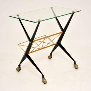 retro vintage italian side table angelo ostuni