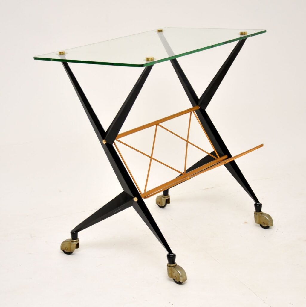 retro vintage italian side table angelo ostuni