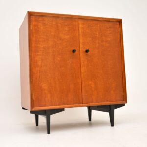 retro vintage teak satin elm cabinet heals