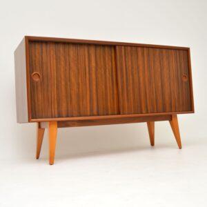 vintage retro walnut sideboard by vanson