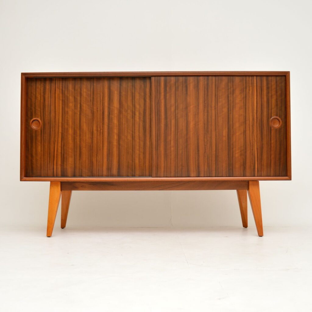 vintage retro walnut sideboard by vanson