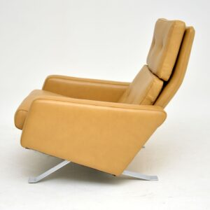 robin day hille leo chair armchair leather vintage retro armchair
