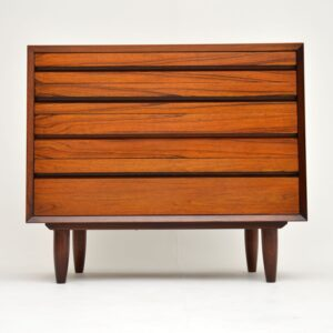 danish rosewood retro vintage chest of drawers cado poul cadovius