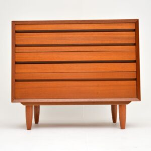 danish teak retro vintage chest of drawers cado poul cadovius