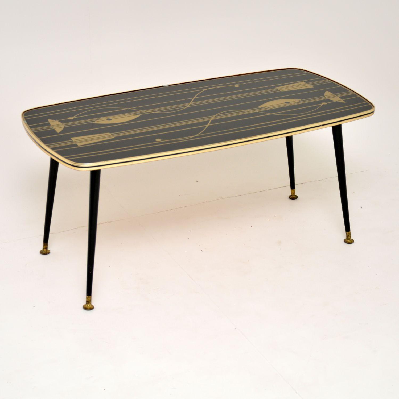 retro vintage atomic coffee table