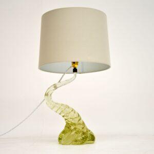 1960's Italian Murano Glass Table Lamp