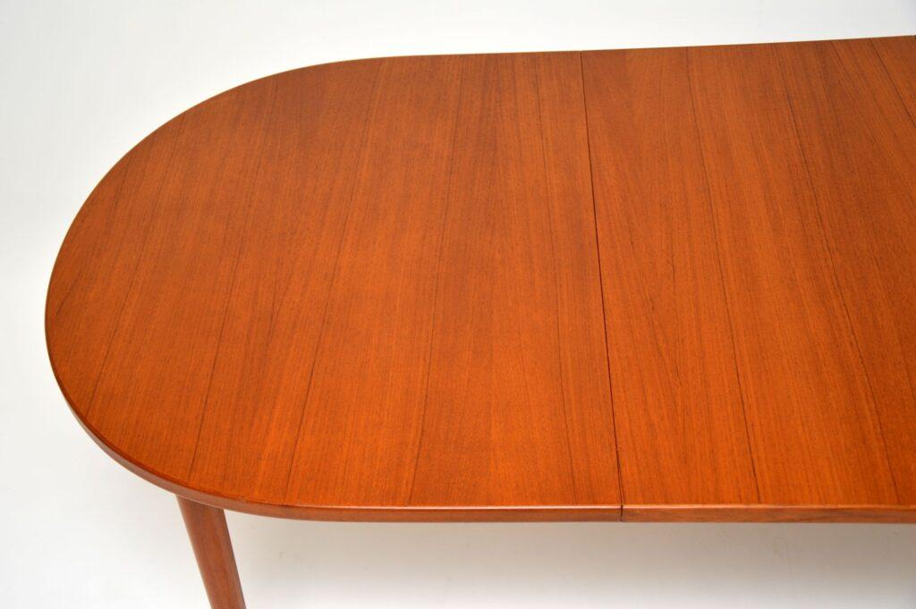 swedish retro vintage teak dining table nils jonsson