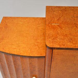 Art Deco Burr Walnut Cocktail Cabinet / Sideboard by Epstein