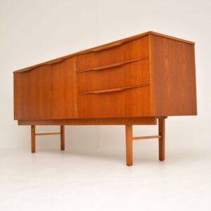 danish retro vintage teak sideboard