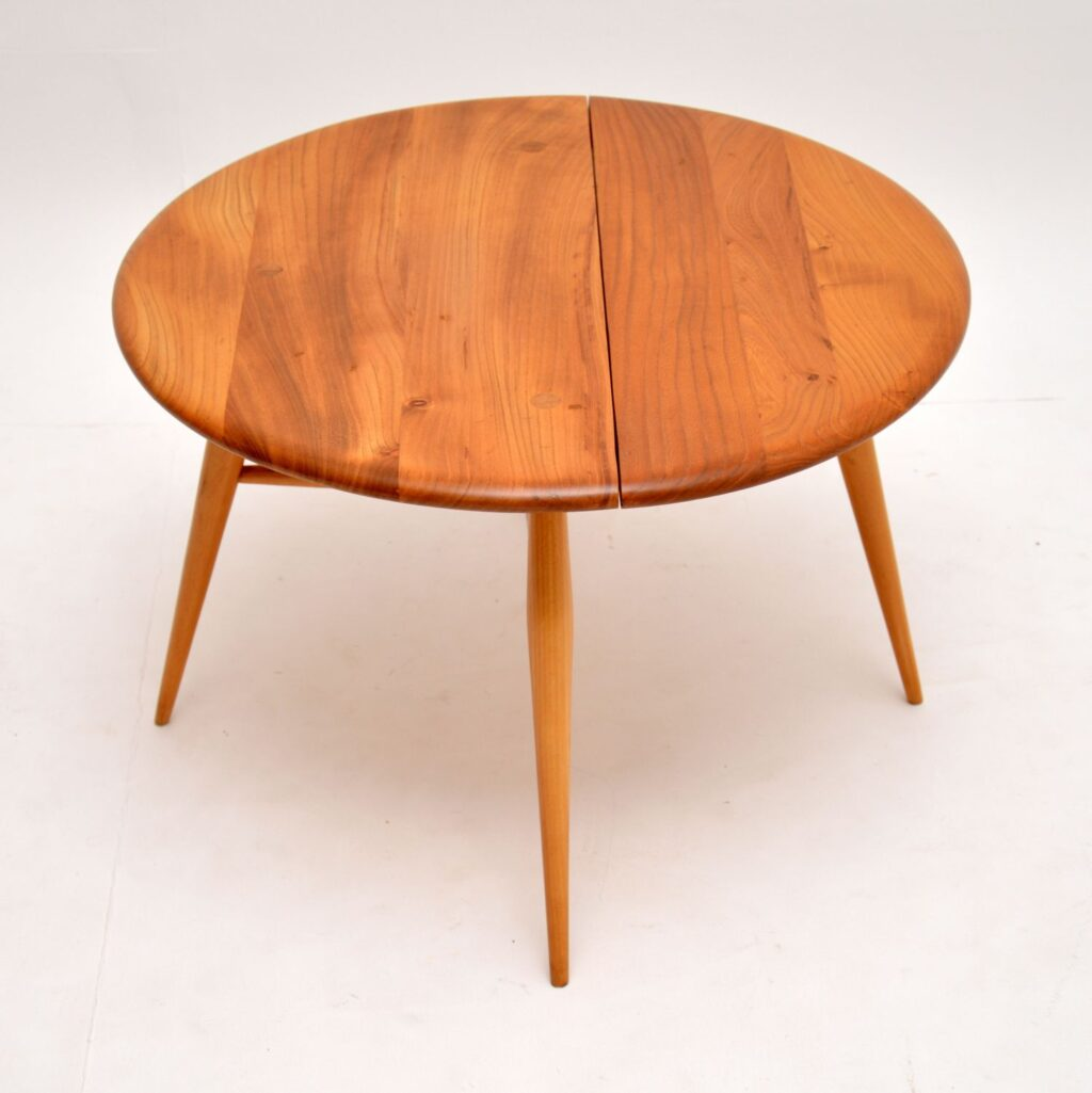 retro vintage ercol coffee table