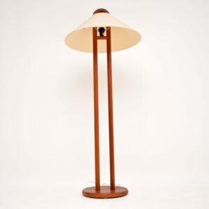 Pair of Matching Danish Vintage Teak Table / Floor Lamps