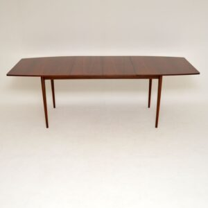 vintage retro rosewood extending dining table by mcintosh